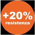 +20% resistenza