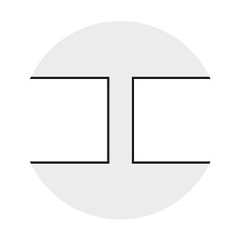 Greydur: dettaglio spigolo vivo