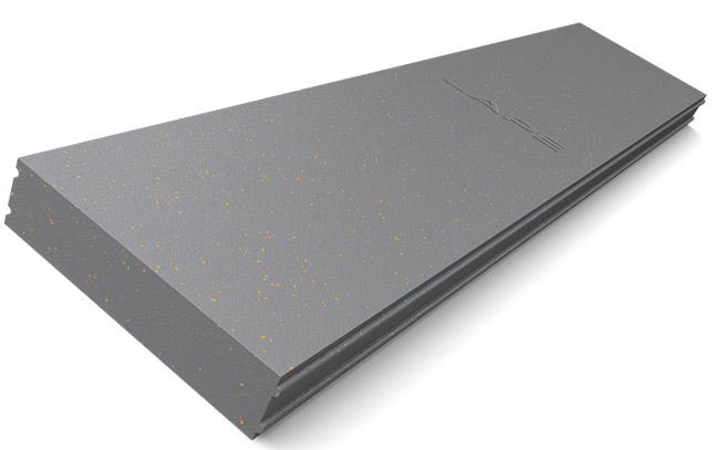 Greydur Top XL: Lastra lunga con incastro m/f