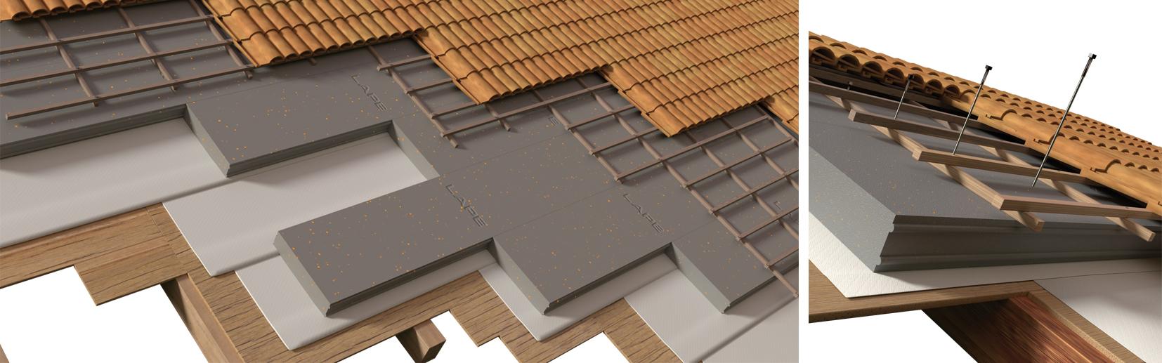 Greydur: tetto a faldo in legno